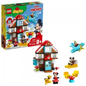 LEGO DUPLO Disney Mickey's Vacation House 10889 Toddler Building Set with Minnie Mouse - Clearance Sale