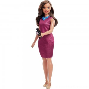 Barbie Careers 60th Anniversary News Anchor Doll - Clearance Sale
