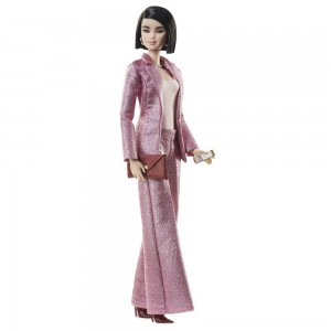 Barbie Signature Styled By Chriselle Lim Collector Doll in in Pink Pant Suit - Clearance Sale