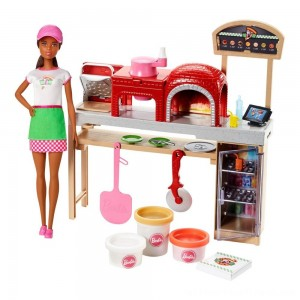 Barbie Careers Pizza Chef Nikki Doll and Playset - Clearance Sale