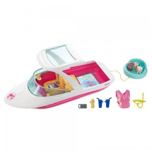 Barbie Dolphin Magic Ocean View Boat - Clearance Sale