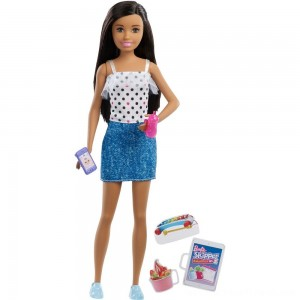 Barbie Skipper Babysitters Inc. Black Hair Doll Playset - Clearance Sale
