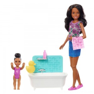 Barbie Skipper Babysitters Inc. Doll & Playset - Dark Hair - Clearance Sale