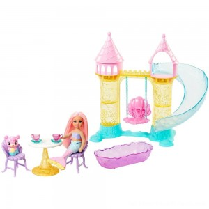 Barbie Chelsea Mermaid Playground Playset - Clearance Sale