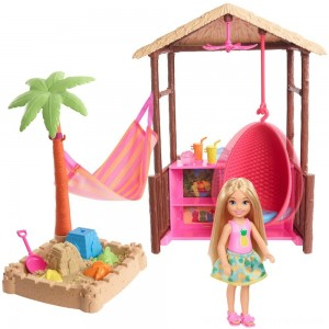Barbie Chelsea Tiki Hut Playset - Clearance Sale