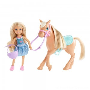 Barbie Chelsea Doll & Pony Playset - Clearance Sale