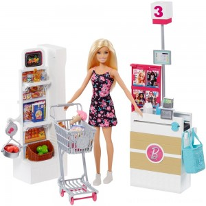 Barbie Supermarket Playset - Clearance Sale