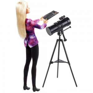 Barbie National Geographic Astronomer Playset - Clearance Sale