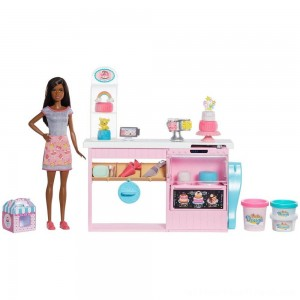 Barbie Cake Bakery Playset - Clearance Sale