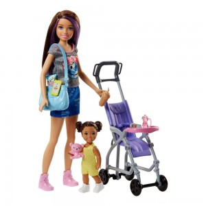 Barbie Skipper Babysitters Inc. Doll and Stroller Playset - Clearance Sale