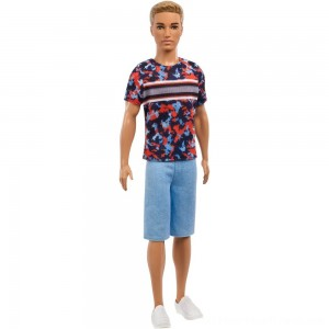 Barbie Ken Fashionistas Doll - Hyper Print - Clearance Sale
