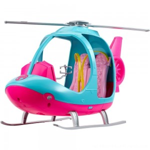 Barbie Travel Helicopter, toy vehicle playsets - Clearance Sale