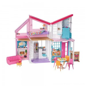 Barbie Malibu House Doll Playset - Clearance Sale