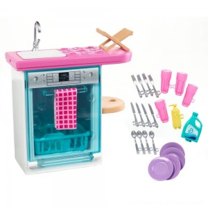 Barbie Dishwasher Accessory - Clearance Sale