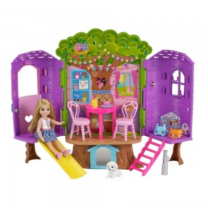 Barbie Chelsea Doll and Treehouse Playset - Clearance Sale