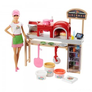 Barbie Careers Pizza Chef Doll and Playset - Clearance Sale