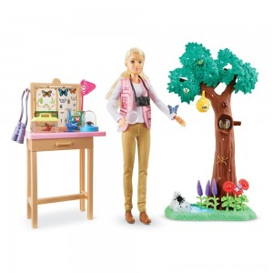 Barbie National Geographic Butterfly Scientist Playset - Clearance Sale