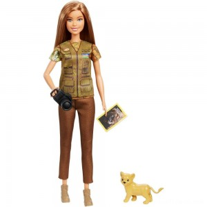 Barbie National Geographic Photographer Playset - Clearance Sale
