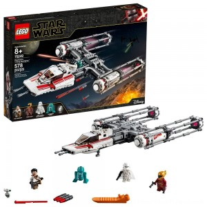 LEGO Star Wars: The Rise of Skywalker Resistance Y-Wing Starfighter 75249 New Advanced Collectible Starship Model Building Kit 578pc - Clearance Sale