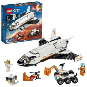LEGO City Space Mars Research Shuttle 60226 Space Shuttle Toy Building Kit with Mars Rover - Clearance Sale