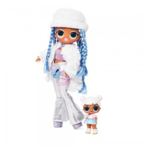 L.O.L. Surprise! O.M.G. Winter Disco Snowlicious Fashion Doll & Sister - Clearance Sale