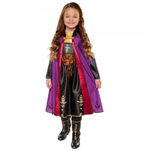 Disney Frozen 2 Anna Travel Dress, Size: Small, MultiColored - Clearance Sale