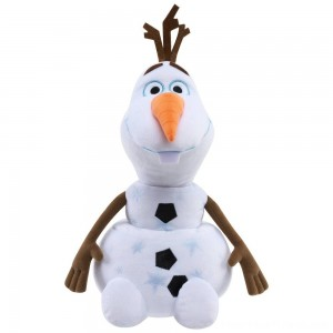 Disney Frozen 2 Large Plush Olaf - Clearance Sale