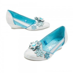 Disney Frozen 2 Elsa Kids' Dress-Up Shoes - Size 13-1, Blue - Clearance Sale