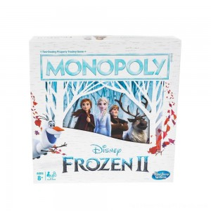 Monopoly Game: Disney Frozen 2 Edition Board Game - Clearance Sale