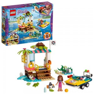 LEGO Friends Turtles Rescue Mission 41376 Building Kit Includes Toy Vehicle and Clinic 225pc - Clearance Sale