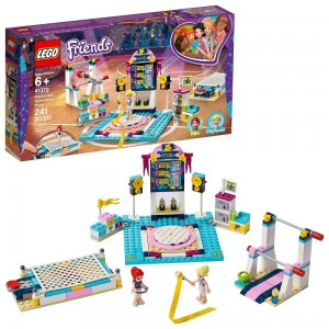 LEGO Friends Stephanie's Gymnastics Show 41372 Building Set with Gymnastics Toys 241pc - Clearance Sale