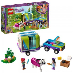 LEGO Friends Mia's Horse Trailer 41371 Building Kit with Mia and Stephanie Mini Dolls 216pc - Clearance Sale