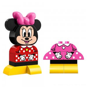 LEGO DUPLO Minnie Mouse My First Minnie Build 10897 - Clearance Sale