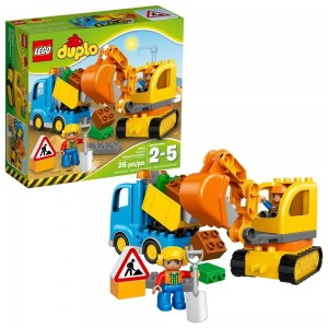 LEGO DUPLO Truck & Tracked Excavator 10812 - Clearance Sale