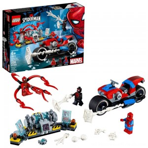 LEGO Super Heroes Marvel Spider-Man Bike Rescue 76113 - Clearance Sale