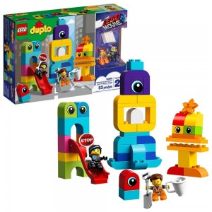 THE LEGO MOVIE 2 Emmet and Lucy's Visitors from the DUPLO 10895 - Clearance Sale