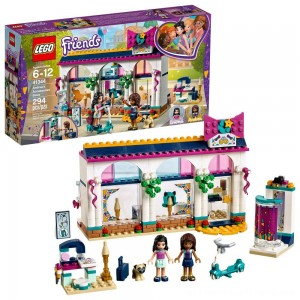LEGO Friends Andrea's Accessories Store 41344 - Clearance Sale