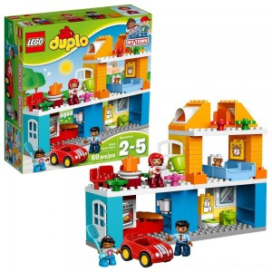 LEGO DUPLO Town Family House 10835 - Clearance Sale