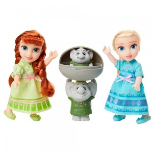 Disney Frozen 2 Petite Surprise Trolls Gift Set - Clearance Sale