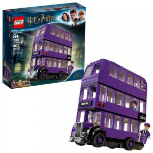 LEGO Harry Potter The Knight Bus 75957 Triple Decker Toy Bus Building Kit 403pc - Clearance Sale
