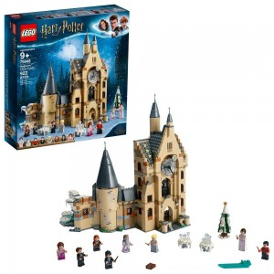 LEGO Harry Potter and The Goblet of Fire Hogwarts Clock Tower Castle Playset with Minifigures 75948 - Clearance Sale