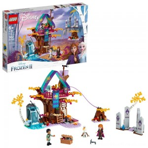 LEGO Disney Princess Frozen 2 Enchanted Treehouse 41164 Toy Treehouse Building Kit for Pretend Play - Clearance Sale