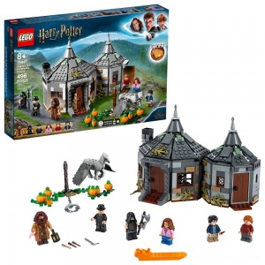LEGO Harry Potter Hagrid's Hut: Buckbeak's Rescue Building Set with Hippogriff Figure 75947 - Clearance Sale