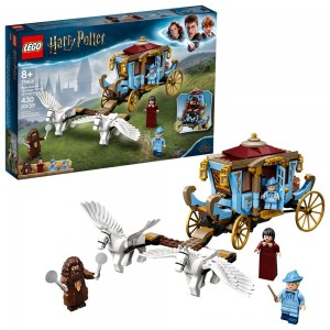 LEGO Harry Potter Beauxbatons' Carriage: Arrival at Hogwarts 75958 Toy Carriage Building Set 430pc - Clearance Sale