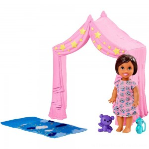 Barbie Skipper Babysitter Inc. Doll & Sleepover Playset - Clearance Sale