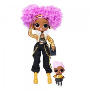 L.O.L. Surprise! O.M.G. Winter Disco 24K D.J. Fashion Doll & Sister - Clearance Sale