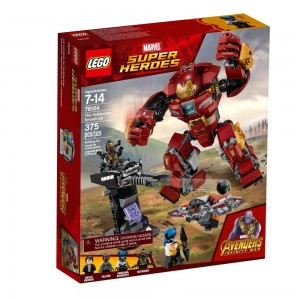 LEGO Super Heroes Marvel Avengers Movie The Hulkbuster Smash-Up 76104 - Clearance Sale