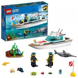 LEGO City Diving Yacht 60221 - Clearance Sale