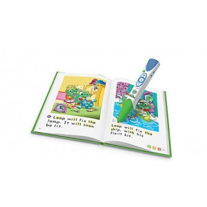 LeapReader® System and 5 Book Learn-to-Read Set Ages 4-8 yrs. - Clearance Sale