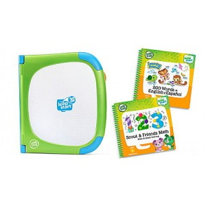 LeapStart® 3D System & 2 Book Combo Pack: Learning Friends and Scout & Friends Math Ages 2-7 yrs. - Clearance Sale
